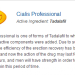 Cialis Professional