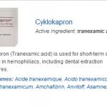 Cyklokapron